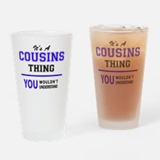 Cute Cousin Drinking Glass