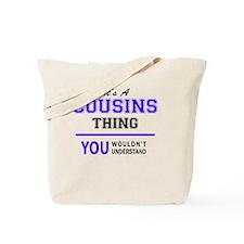 Cute Cousin Tote Bag