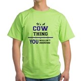 Cows Green T-Shirt