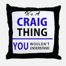 Cool Craig Throw Pillow
