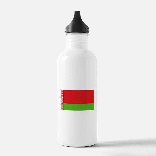 Belarus flag Sports Water Bottle