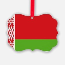 Belarus flag Ornament