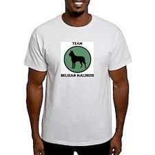 Team  Belgian Malinois (green T-Shirt