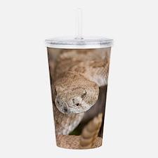 Rattlesnake Acrylic Double-wall Tumbler