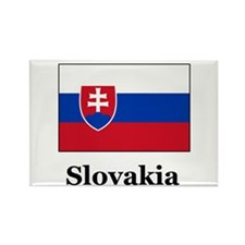 Slovakian Heritage Slovakia Rectangle Magnet