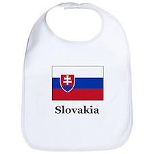 Slovakian Heritage Slovakia Bib