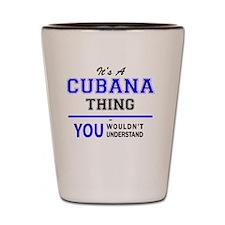 Cute Cubana Shot Glass
