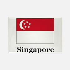 Singaporean Heritage Singapor Rectangle Magnet