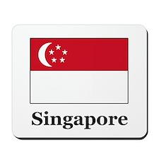 Singaporean Heritage Singapor Mousepad