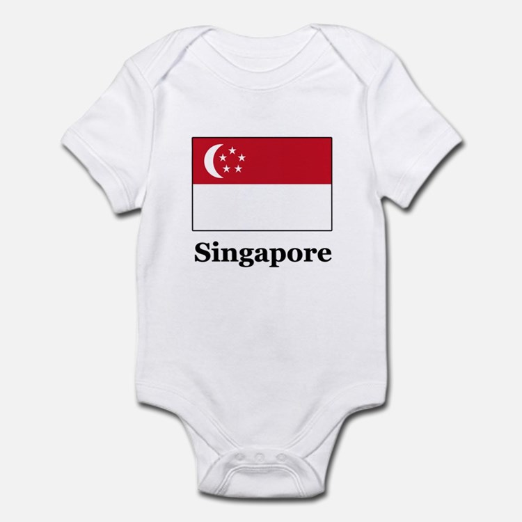 Singaporean Heritage Singapor Infant Bodysuit