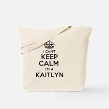 Cute Kaitlyn Tote Bag