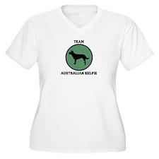 Team  Australian Kelpie (gree T-Shirt