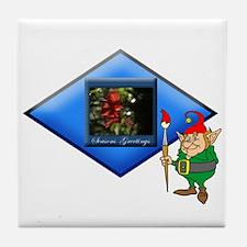 Elf Nature's Painter.:-) Tile Coaster
