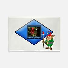 Elf Nature's Painter.:-) Rectangle Magnet