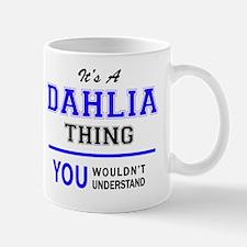Unique Dahlia Mug