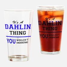 Cool Dahlin Drinking Glass