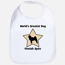 Worlds Greatest Finnish Spitz Bib