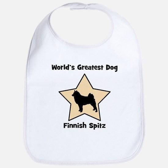 Worlds Greatest Finnish Spitz Bib