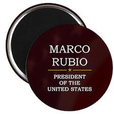Marco Rubio President V3 Magnet