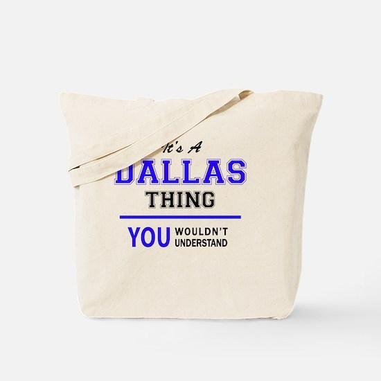 Cute Dallas Tote Bag