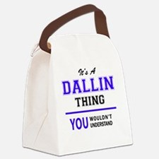 Cool Dallin Canvas Lunch Bag