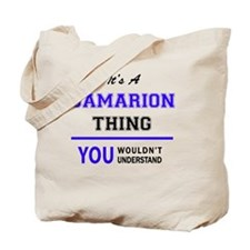 Cute Damarion Tote Bag