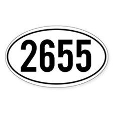 Pacific Crest Trail Mileage Decal