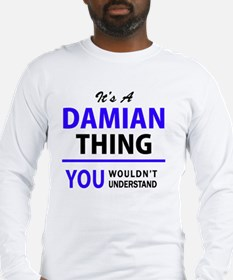 Cute Damian Long Sleeve T-Shirt