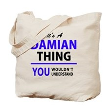 Cute Damian Tote Bag