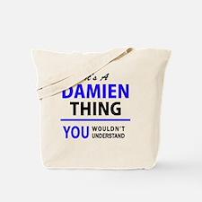 Cute Damien Tote Bag