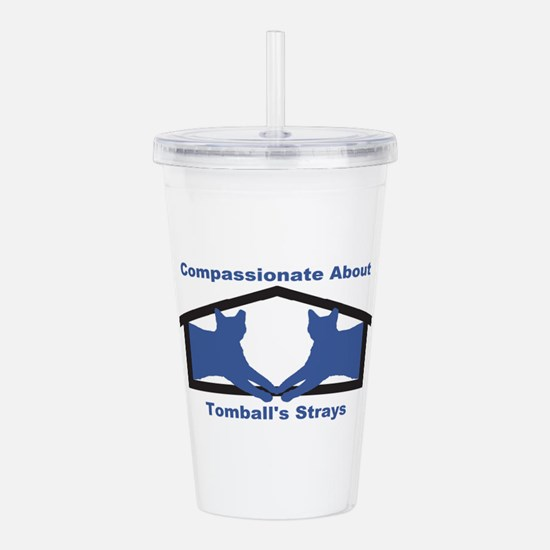 Compassionate About To Acrylic Double-wall Tumbler