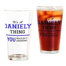 Funny Dani Drinking Glass