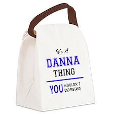 Unique Danna Canvas Lunch Bag