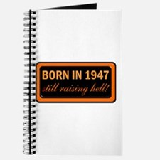 Born in 1947, 60th Gifts! Journal