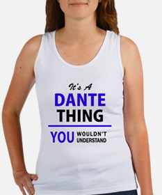 Cute Dante Women's Tank Top