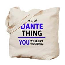 Cute Dante Tote Bag