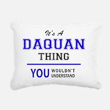 Funny Daquan Rectangular Canvas Pillow