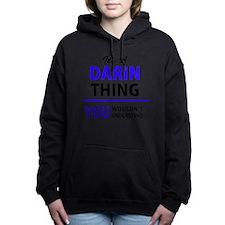 Cute Darin Women's Hooded Sweatshirt