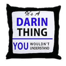Cute Darin Throw Pillow