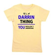 Cute Darrin Girl's Tee