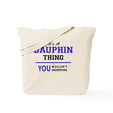 Cute Dauphin Tote Bag