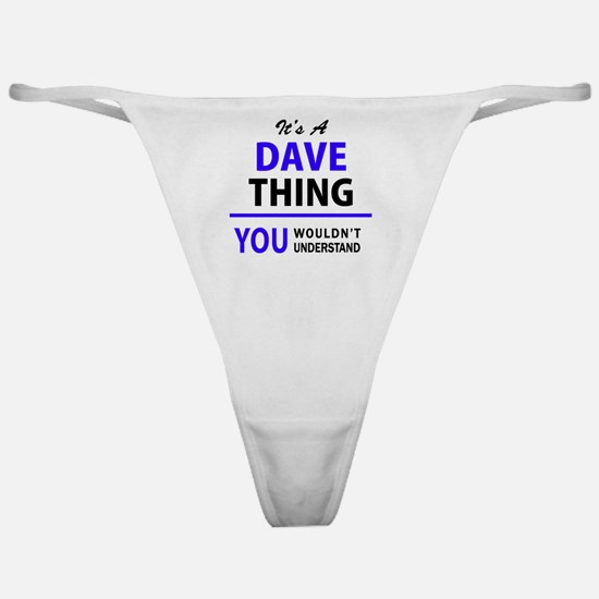 Cute Dave Classic Thong