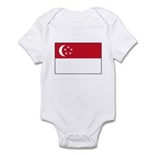 Singaporean Flag Singapore Infant Bodysuit