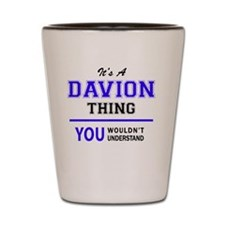 Cute Davion Shot Glass