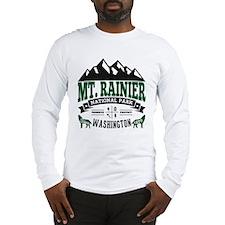 Mt. Rainier Vintage Long Sleeve T-Shirt