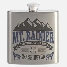 Mt. Rainier Vintage Flask