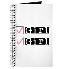 Girl/Girl Check Journal