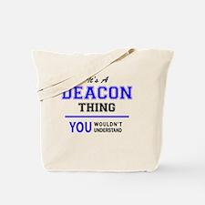 Funny Deacon Tote Bag