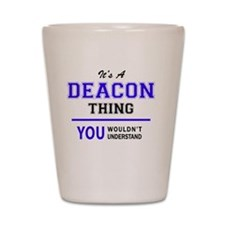 Cute Deacon Shot Glass