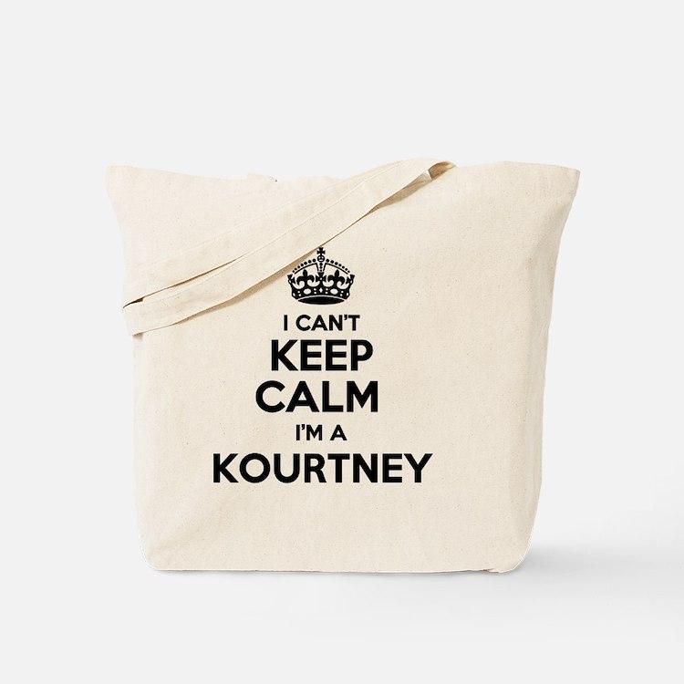 Cute Kourtney Tote Bag